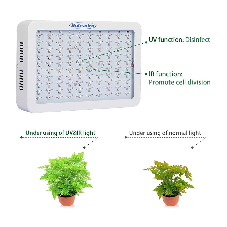 ᐅ】Die besten LED Grow Lampen im Vergleich || LED Pflanzenlampen