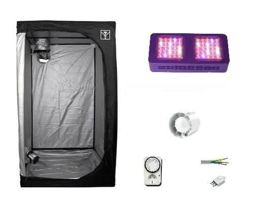 Das Panoramix LED Komplettset Growbox
