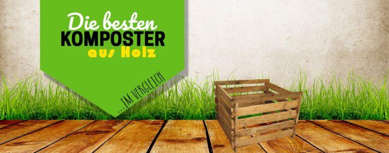 Titelbild der besten Komposter aus Holz