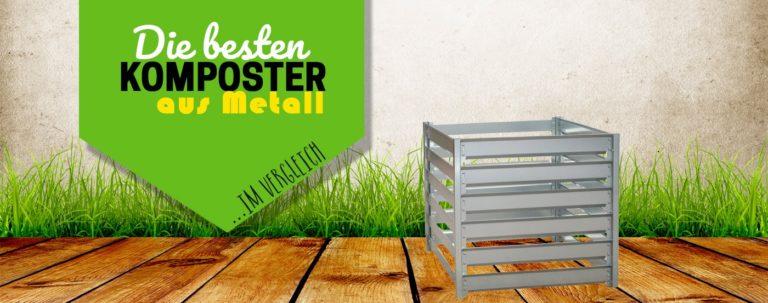 Titelbild Komposter aus Metall