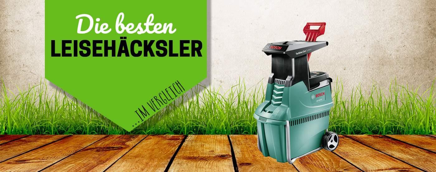Titelbild für leise Gartenhäcksler