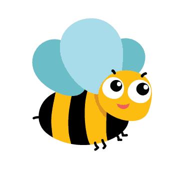 Biene-fliegt